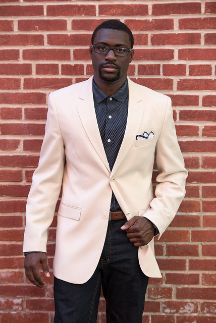 suit jacket used as casual sport coat